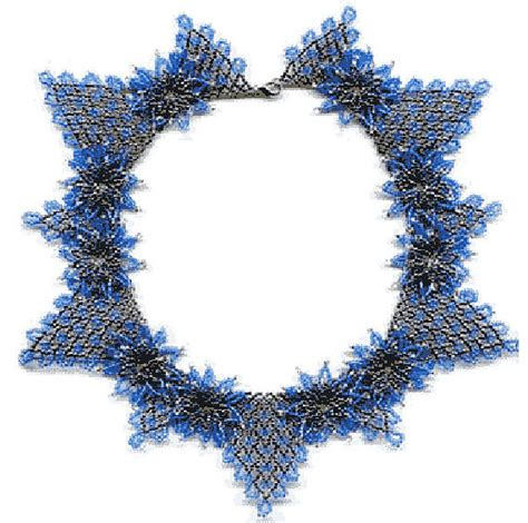 seed bead necklace patterns for beginners beginner pattern seed beaded flowers necklace