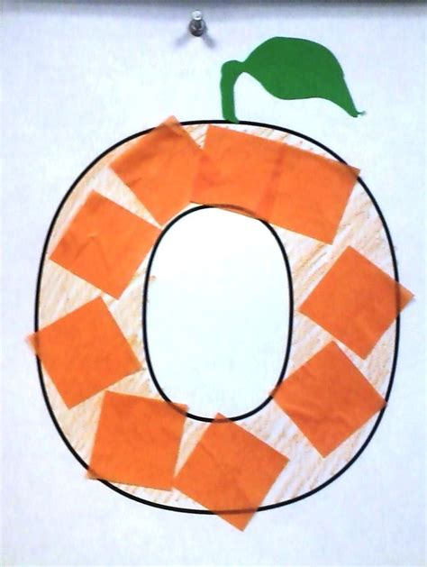 orange craft for 25 best ideas about letter o crafts on