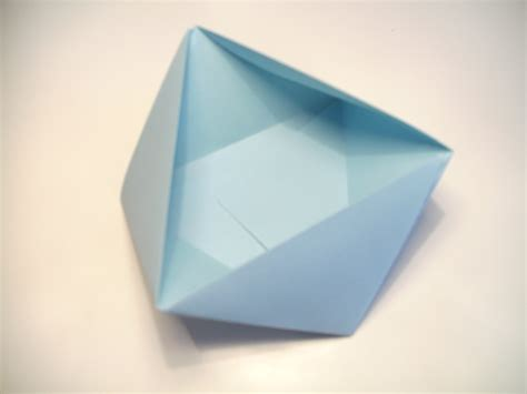 triangle box origami origami triangular box