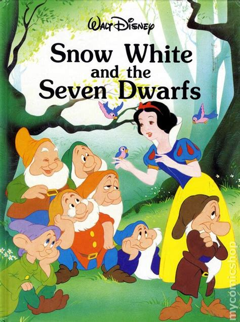 snow white and the seven dwarfs picture book comic books in disney storybook