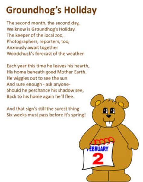 groundhog day poetry on groundhog s day poem