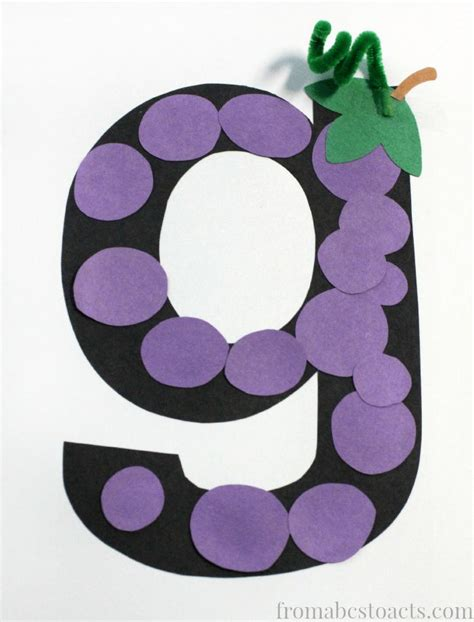 grapes craft for 25 best ideas about letter g crafts on letter