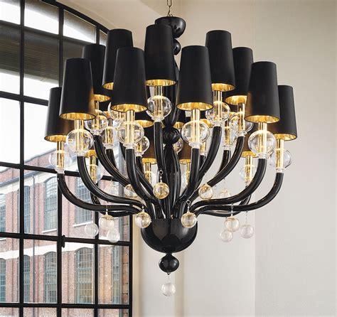 glass chandelier modern black modern chandelier black glass modern murano
