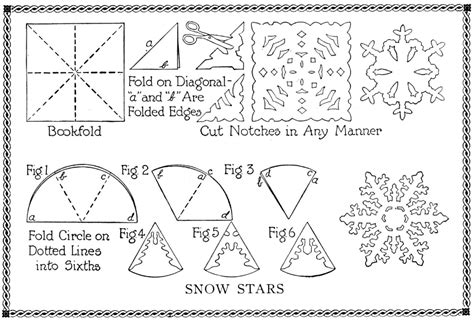 how to make a origami snowflake shabby in snowflake pattern ideas