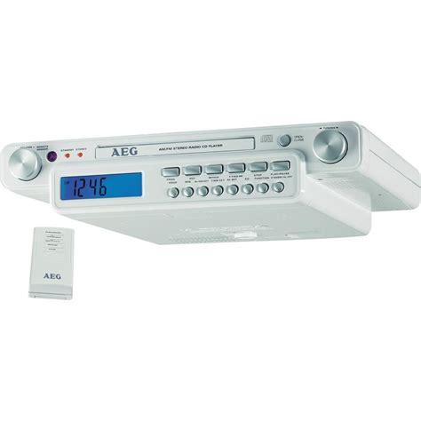 cabinet kitchen radio aeg krc 4323 cabinet kitchen radio white from
