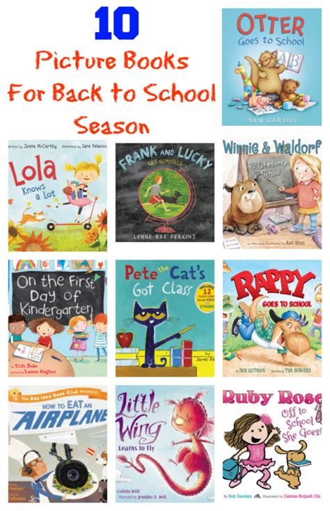 back to school picture books 10 picture books for back to school season outnumbered