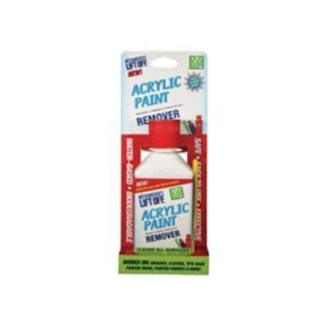 acrylic paint removal from wood lift acrylic paint remover 4 5 fl oz du all