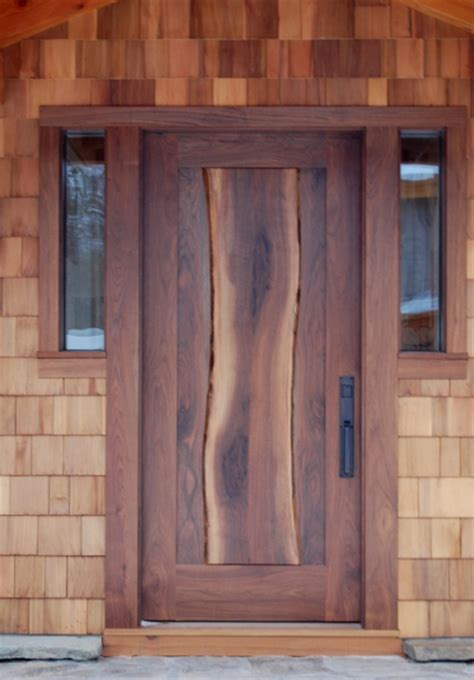 custom front doors timber frame exterior doors new energy works