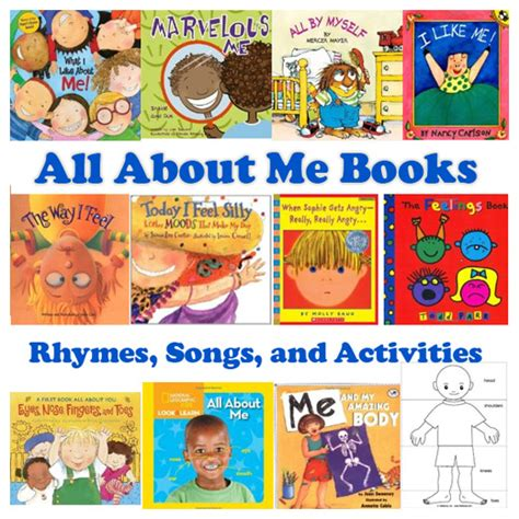 picture me book all about me books rhymes songs and activities kidssoup