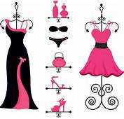 Pink And Black Fashion Free Vector In Adobe Illustrator Ai