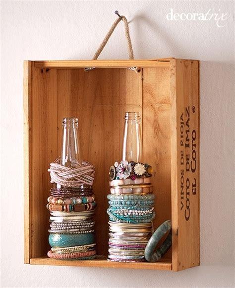make jewelry organizer 20 ideas to make diy jewelry holder stay organized