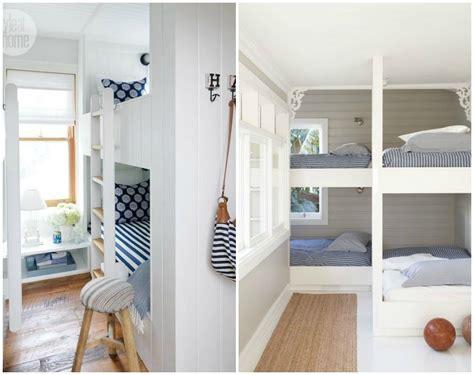 built in beds built in bunk beds diy decorator