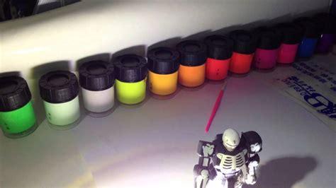 acrylic painting hobby ideas glow in the phosphorescent acrylic hobby paints