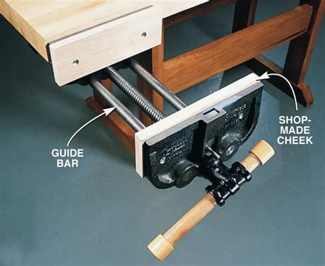 installing a woodworking vise pdf install wood vice plans free