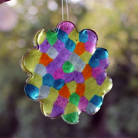 how to make suncatchers with plastic pony archives family craftsfun family crafts