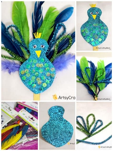 peacock crafts for 17 best ideas about bird crafts on bird crafts
