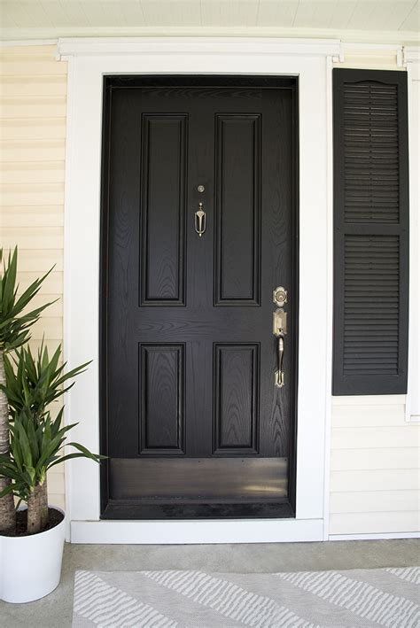 black kick plates for front doors 5 tips for styling a covered porch room for tuesday