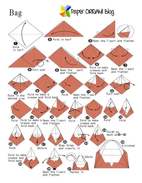 origami crane template simple bag origami paper origami guide