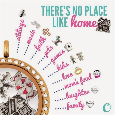 charms like origami owl there s no place like home origami owl living locket