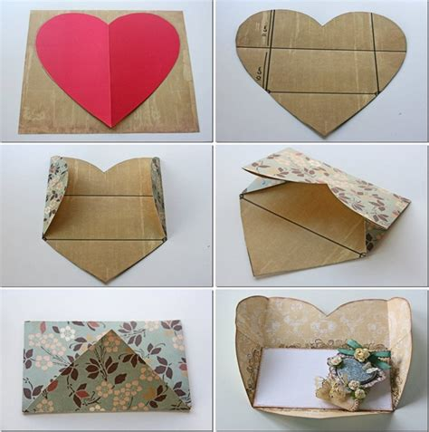 how to make shaped cards 8 diy s day cards tutorials for your special