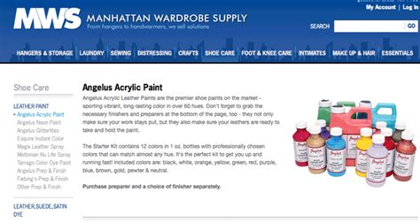 angelus paint manhattan how to tuesday where to buy angelus leather paint