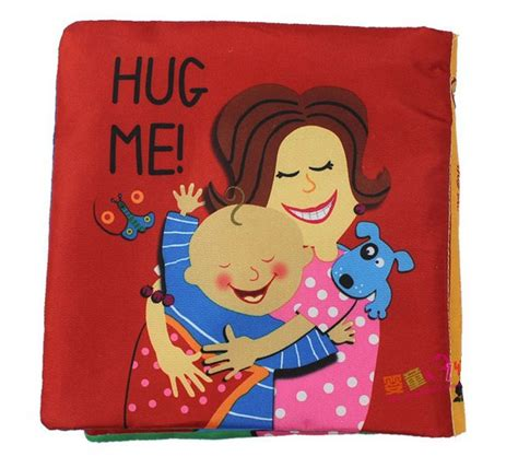 family picture book for baby baby cloth book happy family members hug me activity book