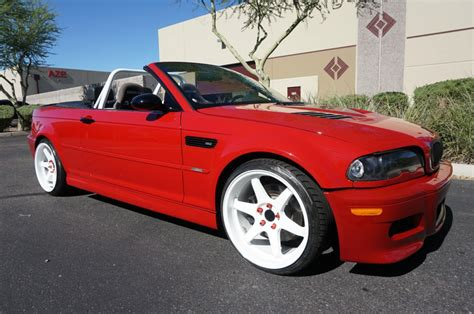 Bmw M3 Convertible For Sale by 2004 Bmw M3 Convertible 6 Speed For Sale