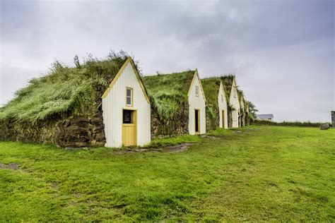 Burm House icelandic turf houses are cute and surprisingly cozy
