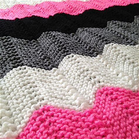 ripple afghan knit pattern ravelry knitted chevron ripple afghan pattern by