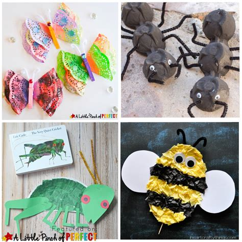 craft activities 16 creative ways to make bug crafts with