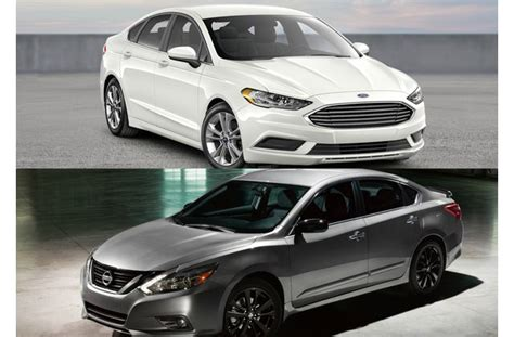 Nissan Altima Vs Ford Fusion by 2018 Ford Fusion Vs 2018 Nissan Altima To U