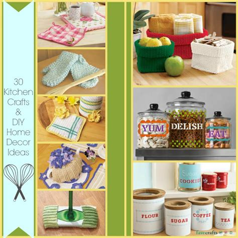 home craft ideas for 30 kitchen crafts and diy home decor ideas favecrafts