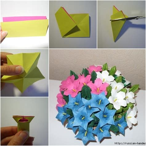 easy origami flower bouquet diy beautiful paper origami flower bouquet fab diy