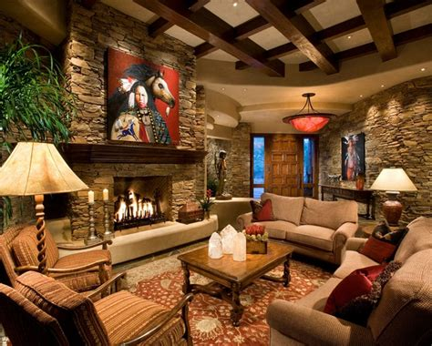 country style living room interior wall in country style living room