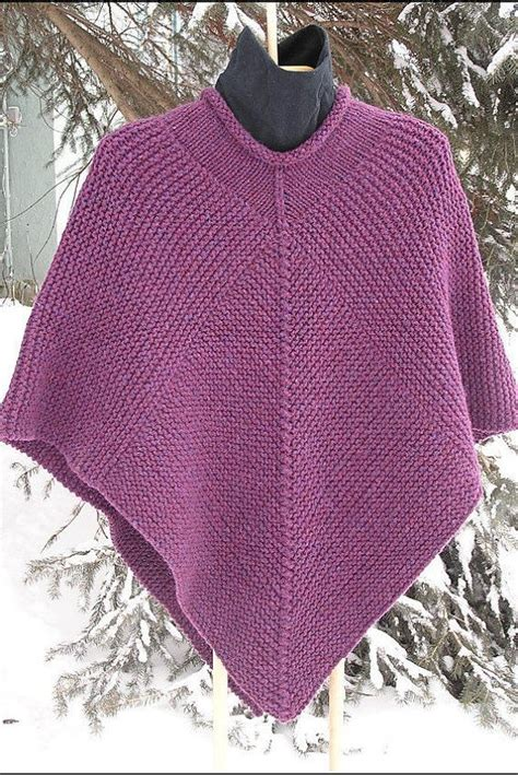 poncho pattern knit in the 25 beste idee 235 n poncho knitting patterns op