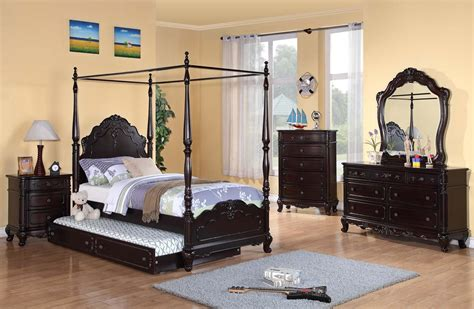 cinderella bedroom set homelegance cinderella poster bedroom set cherry