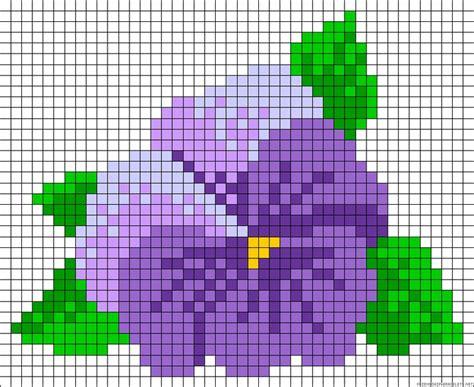 perler bead flower patterns hibiscus flower perler bead pattern perler