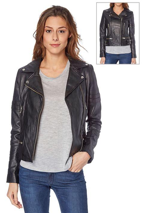 chaquetas de piel estilo chupa de cuero distintas marcas - Cazadoras De Cuero Mujer