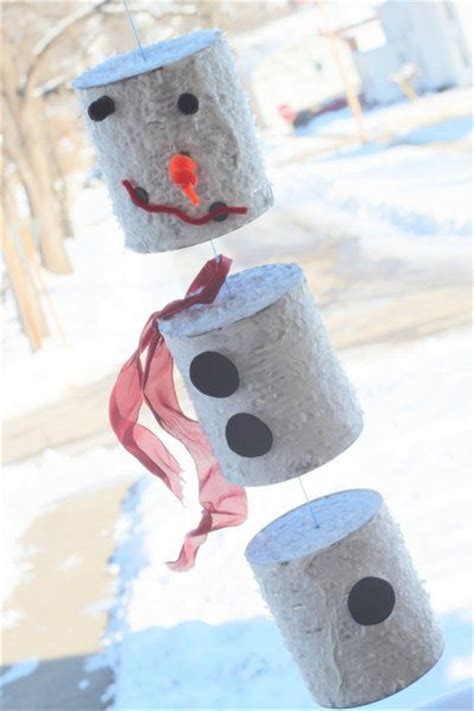 snowman crafts for tin can snowman family crafts