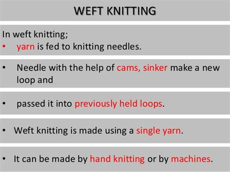 characteristics of knitted fabrics classification of knits