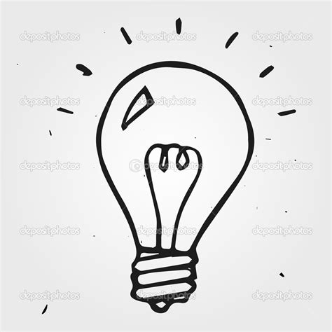 drawing of lights image gallery light bulb drawing
