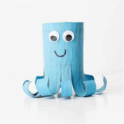 octopus toilet paper roll craft octopus cardboard craft here are 10 easy kid crafts
