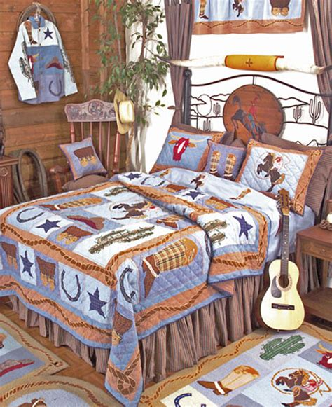 cowboy bedding cowboy by patchmagic quilts beddingsuperstore