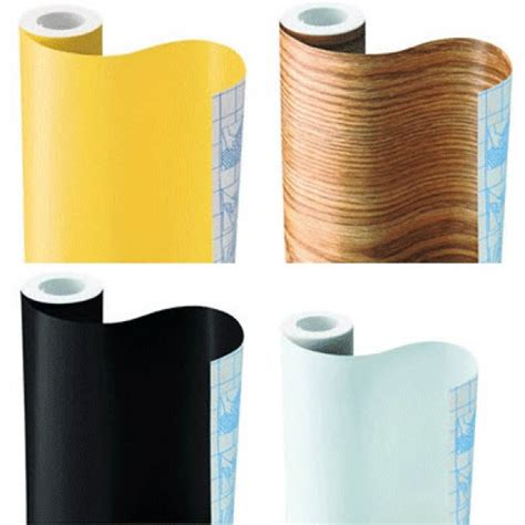 kitchen cabinet cover self adhesive contact paper 1m or 15m roll assorted design
