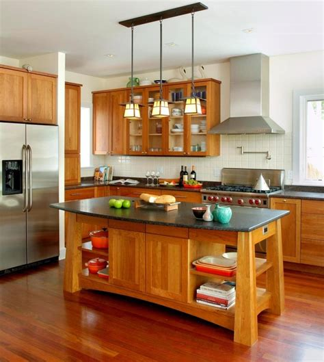 mission style kitchen island 51 awesome small kitchen with island designs page 6 of 10