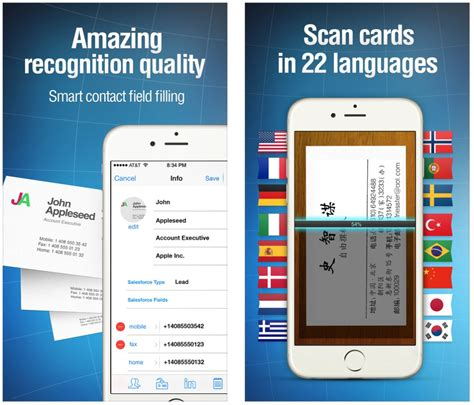 best free reader app the best business card scanner apps for iphone