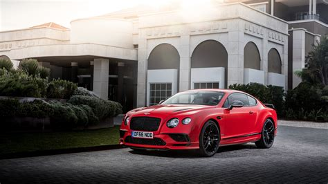 Sports Car Wallpaper 2017 Hd by Bentley Continental Supersports 2017 4k Wallpaper Hd Car