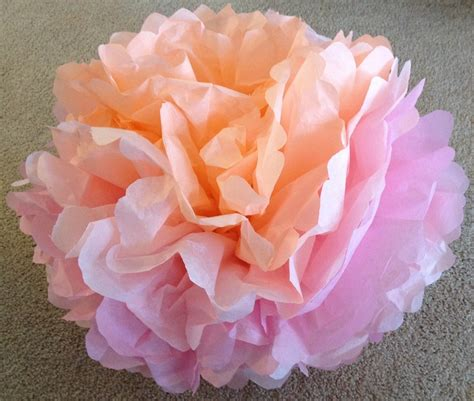 How To Make Tissue Paper Flowers Craft Tutorial S S