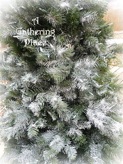 can you spray paint an artificial tree how to paint your tree winter white