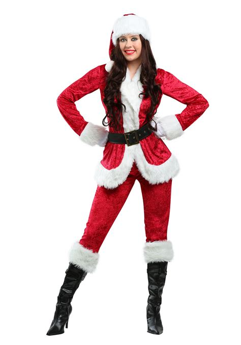buy santa claus costume plus size sweet santa costume for